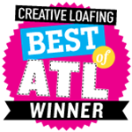 creative-loafing-badge, Sugar Magnolia BB, Atlanta, GA