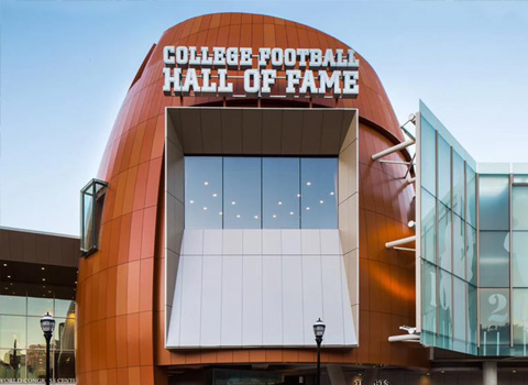 College-Football-Hall-of-Fame in Sugar Magnolia BB, Atlanta, GA