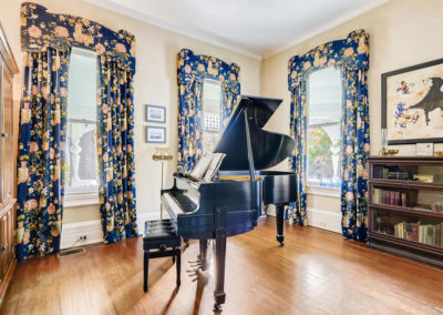 Piano-in-the- Royal- Suite at Sugar Magnolia BB, Atlanta, GA